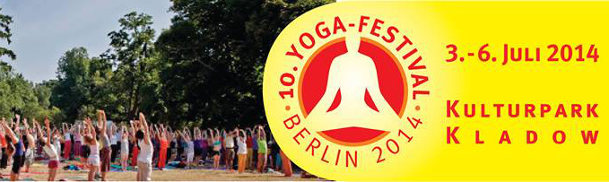 Banner Yogafestival Berlin 2014