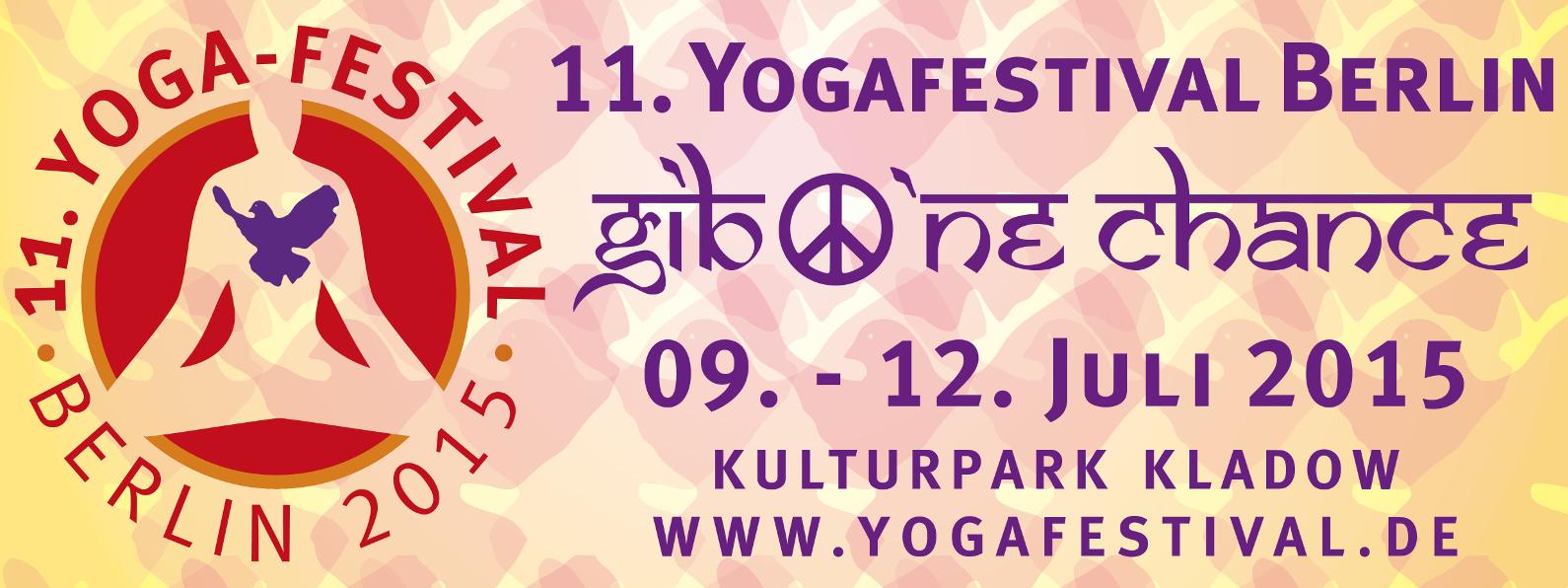 Banner Yogafestival Berlin 2015
